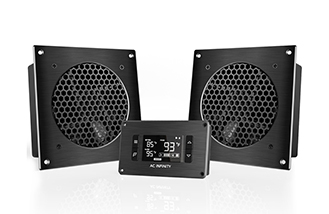 This Ultra Quiet Cooling System Is Popular In A Variety Of Applications  Including Home Theaters, Entertainment Centers, And Audio Video Cabinets;  ...